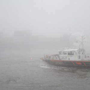Nebel in Hamburg